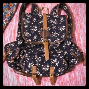 Mudd Brand Floral Backpack